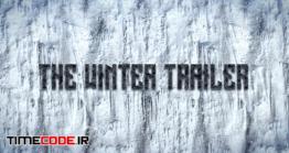 دانلود پروژه آماده پریمیر : تریلر زمستانی Winter Trailer
