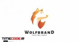 دانلود فایل لایه باز لوگو گرگ Wolf Brand – Logo Template