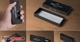دانلود 5 موکاپ جعبه مستطیل شیک Black Rectangular Box Mockups