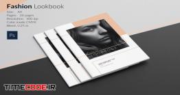 دانلود طرح لایه باز ژورنال لباس Fashion Lookbook Template
