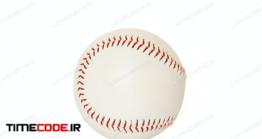 دانلود عکس توپ بیسبال  Base Ball Isolated On White Background
