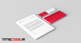 دانلود موکاپ ست اداری + کارت ویزیت  Brand Identity Mockups