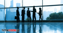دانلود عکس ضد نور ملاقات کاری  Business Meeting