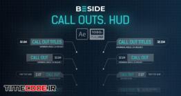 دانلود پروژه آماده افترافکت : اینفوگرافی Call Outs HUD