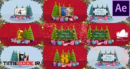 پروژه افترافکت : شمارش معکوس و آلبوم عکس کریسمس Christmas Countdown Opener