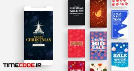 دانلود پروژه آماده پریمیر : استوری اینستاگرام کریسمس Christmas Instagram Stories