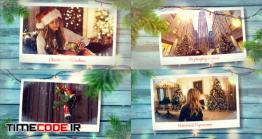 دانلود پروژه آماده افترافکت : اسلایدشو کریسمس Christmas Memory Photo Slideshow