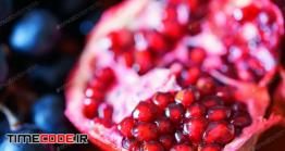 دانلود عکس انار Close-up Of Ripe Pomegranate Fruit