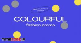 دانلود پروژه آماده افترافکت : فشن و شو لباس Colorfull Fashion Promo