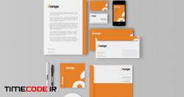 دانلود موکاپ ست کارت ویزت و معرفی برند Corporate Identity / Branding Mockups