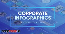 دانلود پروژه آماده افترافکت : تیزر اینفوگرافی فعالیت شرکت Corporate Infographics