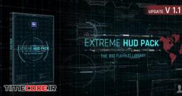 دانلود پروژه آماده افترافکت Extreme HUD Pack