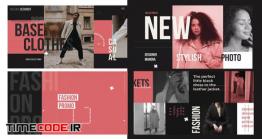 دانلود پروژه آماده افترافکت : فشن و شو لباس Fashion Promo Clothes
