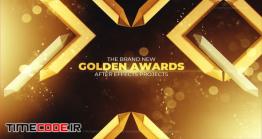 دانلود پروژه آماده افترافکت : وله اعلام جوایز و کاندیدا Gold Awards Opener