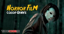 30 پریست رنگی افترافکت مخصوص فیلم ترسناک Horror Film Color Grades