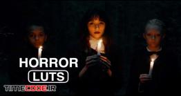 20 پریست رنگی فاینال کات پرو مخصوص فیلم ترسناک Horror Movie Trailer LUTs