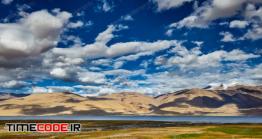 دانلود عکس منظره  Lake Tso Moriri In Himalayas
