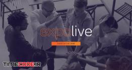 دانلود پروژه آماده افترافکت : تیزر تبلیغاتی همایش و سخنرانی Live Event Promo