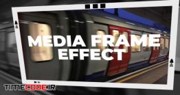 دانلود پریست پریمیر : فریم Media Frame Effect