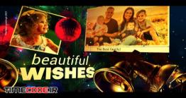 دانلود پروژه آماده افترافکت : اسلایدشو کریسمس Merry Christmas And Happy New Year