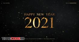 دانلود پروژه آماده افترافکت : شمارش معکوس سال نو New Year Countdown 2021