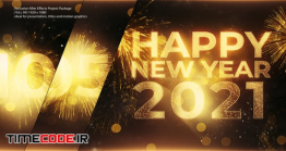 دانلود پروژه افترافکت : شمارش معکوس تحویل سال نو میلادی New Year Countdown Opener