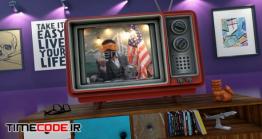 دانلود پروژه آماده افترافکت : وله تلویزیون قدیمی Old TV Youtube Opener