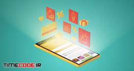 دانلود تیزر تبلیغاتی موشن گرافیک فروشگاه آنلاین Sale – Online Promo