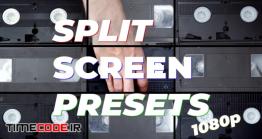 دانلود پریست تقسیم صفحه مخصوص پریمیر Split-Screen Presets