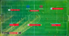 دانلود پروژه آماده افترافکت : زیرنویس مسابقه فوتبال Sport Lower Thirds