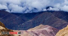 دانلود عکس جاده کوهستانی  Srinagar Leh National Highway In Himalayas