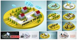 دانلود پروژه آماده افترافکت : تیزر تبلیغاتی کارگو و حمل و نقل Transport And Cargo Promo