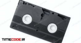 دانلود عکس نوار کاست ویدئویی  Vhs Video Cassette