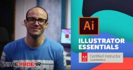 دانلود آموزش ایلستریتور از پایه Adobe Illustrator CC – Essentials Training