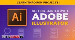 دانلود آغاز به کار با ایلستریتور + پروژه محور Getting Started With Adobe Illustrator!