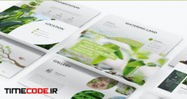 دانلود قالب پاورپوینت محیط زیست Alami – Environment Powerpoint Template