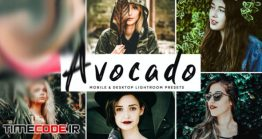 دانلود اکشن و پریست لایت روم + نسخه موبایل Avocado Mobile & Desktop Lightroom Presets