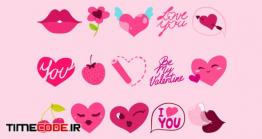 دانلود آیکون روز ولنتاین  Be My Valentine Icons