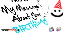 دانلود پروژه آماده فاینال کات پرو : جشن تولد  Birthday