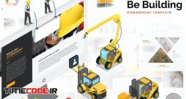 دانلود قالب پاورپوینت مهندسی Building & Construction Powerpoint Template