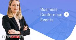 دانلود قالب پاورپوینت سمینار  Business Conferences & Events PowerPoint Template