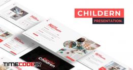دانلود قالب پاورپوینت کودکان Children – Powerpoint Template
