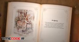 دانلود پروژه آماده افترافکت : کتاب داستان قدیمی Classic Novel
