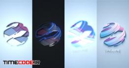 دانلود پروژه آماده افترافکت : لوگوموشن Clean Dark Light Logo