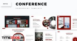 دانلود رایگان قالب پاورپوینت مخصوص سمینار Conference – Powerpoint Template