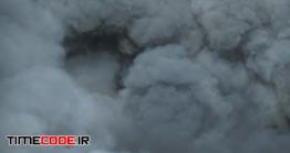 دانلود فوتیج دود Dense Smoke Fills Entire Frame