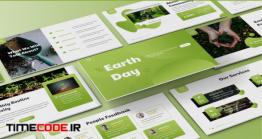 دانلود قالب پاورپوینت روز زمین Earth Day – Environment Powerpoint Template