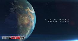 دانلود پروژه آماده پریمیر : تیتراژ روی کره زمین Earth Planet