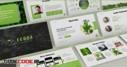 دانلود قالب پاورپوینت محیط زیست Ecoda – Environment Powerpoint Template