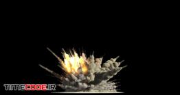 دانلود فوتیج آلفا انفجار Explosion With Alpha Mask